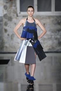 Txell Miras SS2018 34 Ariadna -paper dress
